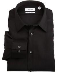 Calvin Klein Non Iron Slim Fit Solid Dress Shirt