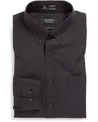 Nordstrom Shop Smartcare Trim Fit Solid Dress Shirt