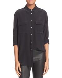 Signature silk shirt medium 972400