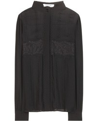 Valentino Silk Crepe Shirt