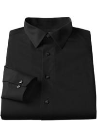 Apt. 9 Slim Fit Stretch Spread Collar Dress Shirt