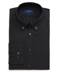 Eton Soft Collection Slim Fit Solid Dress Shirt