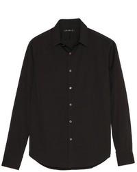 Sylvain solid dress shirt medium 137064