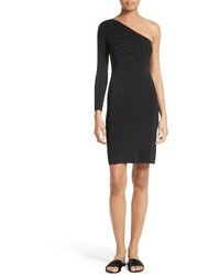 Elizabeth and James Brittany One Shoulder Dress