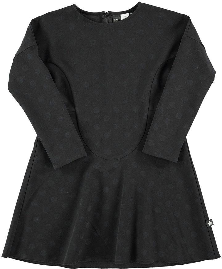 Molo Ciera Polka Dot Dress Black Size 3 14