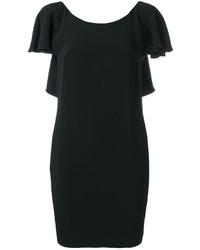 Dondup Open Ruffled Back Dress