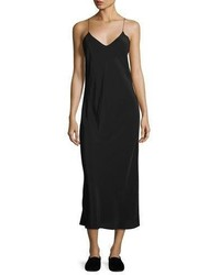 The Row Gibbons Sleeveless Bias Cut Dress