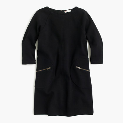 J.Crew Girls Shift Dress With Zippers