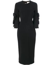 Roksanda Lavete Bow Sleeves Dress