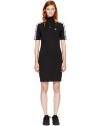 adidas Originals Black 3 Stripes High Neck Dress