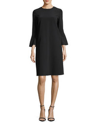 Lafayette 148 New York Sidra 34 Bell Sleeve Emory Cloth Dress