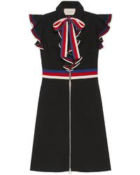 Gucci Sylvie Web Stretch Jersey Dress