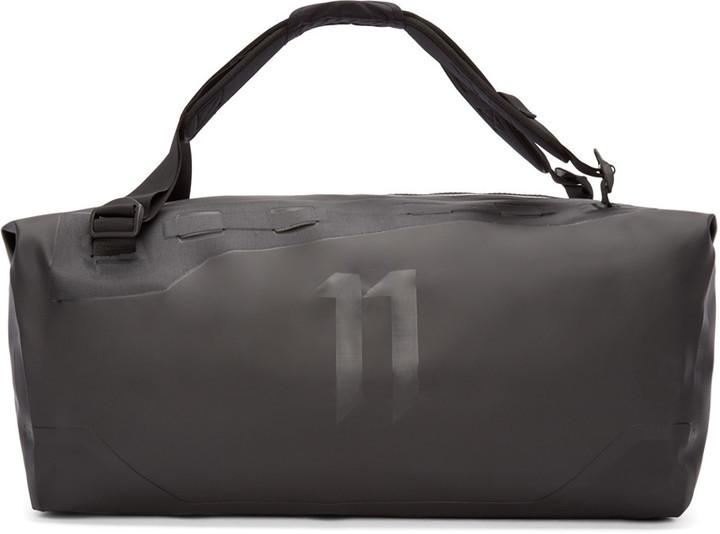 79f75cc140e 11 By Boris Bidjan Saberi Black Travel Zip Duffle Bag, $535 | SSENSE ...