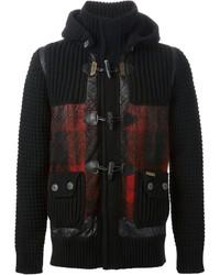 Bark Knitted Toggle Coat