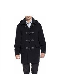 BGSD Hooded Wool Blend Toggle Duffle Coat