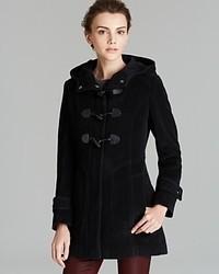 Cole Haan Coat Hooded Duffle