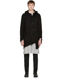 Comme des Garcons Comme Des Garons Homme Plus Black Wool Duffle Coat