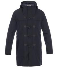 Bottega Veneta Cotton Blend Twill Duffle Coat