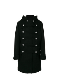 Balmain Double Breasted Duffle Coat