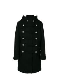 Balmain Double Breasted Duffle Coat