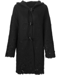 Ermanno Scervino Embroidered Duffle Coat