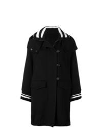 Ermanno Scervino Hooded Rain Coat