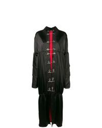 Rouge Margaux Long Drapped Coat