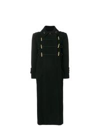 Nina Ricci Long Monogram Collar Coat