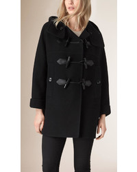 Burberry Oversize Virgin Wool Cashmere Duffle Coat