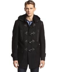 Andrew Marc Pierce Elongated Toggled Wool Coat