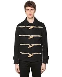 Short wool cloth duffle coat medium 3776688