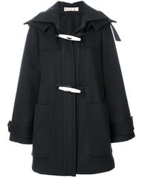 Marni Toggle Hooded Coat