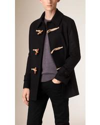Burberry Virgin Wool Cashmere Duffle Coat