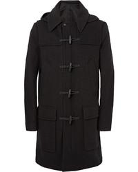 Ami Wool Blend Hooded Duffle Coat
