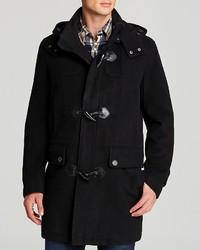 Cole Haan Wool Plush Duffle Coat