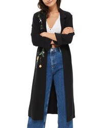 Black duster coat original 11013299