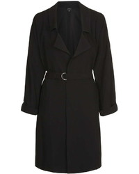 Topshop Belted D Ring Duster