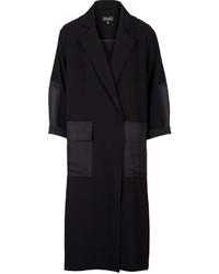 Contrast Panel Duster Coat