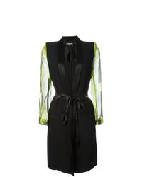 Ann Demeulemeester Panelled Tuxedo Style Jacket