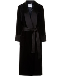 Racil Black Velvet Andromeda Duster Coat