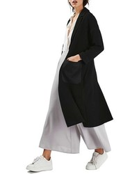 Topshop Satin Pocket Duster Coat