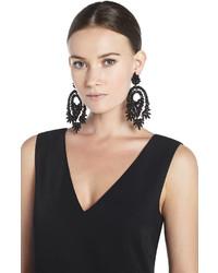 Bcbgmaxazria Oversized Rhinestone Tail Earrings