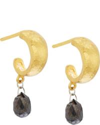 Gurhan Black Diamond Drop Earrings