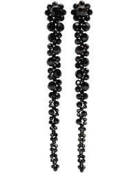 Simone Rocha Black Perspex Drips Earrings