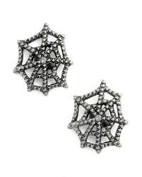 Marc Jacobs Cobweb Stud Earrings