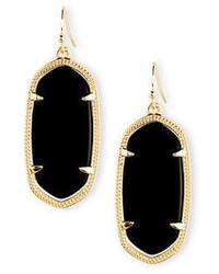 Kendra Scott Elle Statet Drop Earrings
