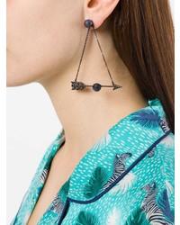 Axenoff Jewellery Feather Arrow Earrings
