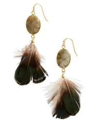 Feather earrings medium 4950530