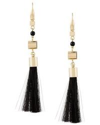 Isabel Marant Bead Accent Tassel Earrings