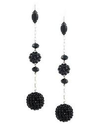 Isabel Marant Hanging Stone Cluster Earrings
